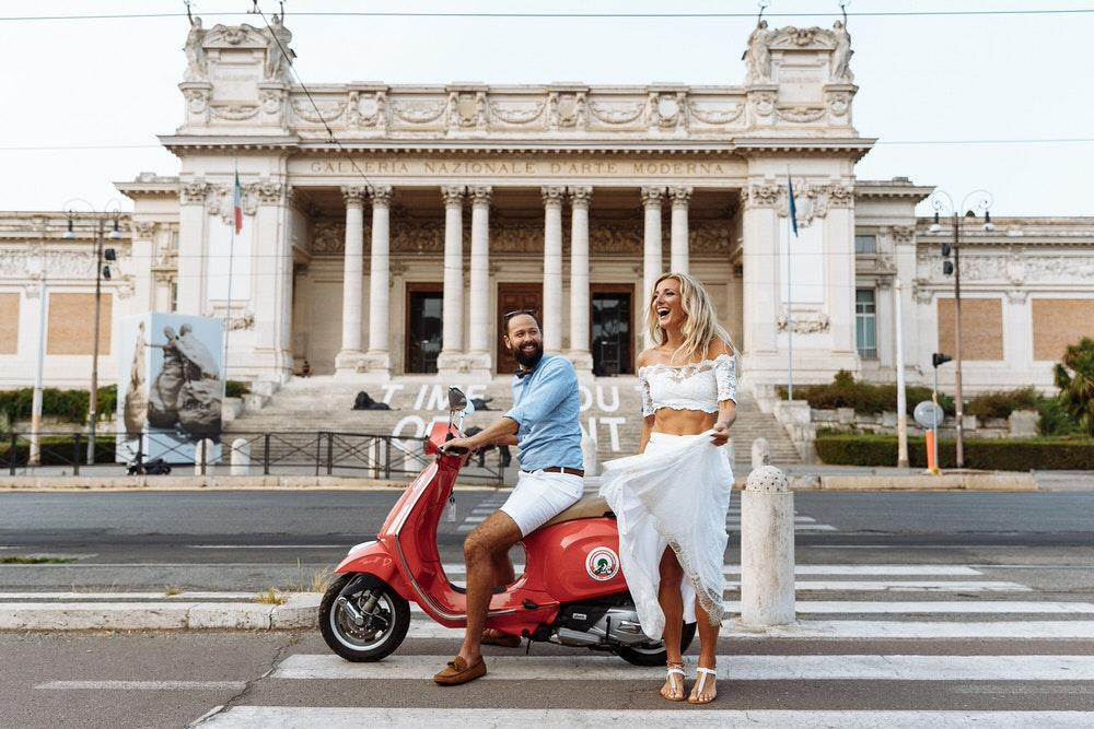 Wedding proposal photographer Rome